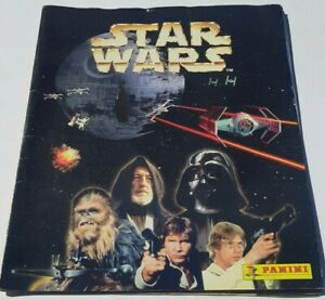 Star Wars Panini Sticker Book Poster 1996 Used Luke Skywalker Darth Vader Obi-Wa