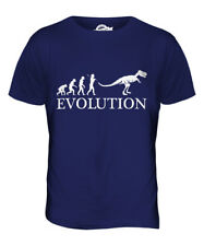 T-Rex Evolution Parte Superior el Hombre Camiseta Tee Giftcostume Tiranosaurio