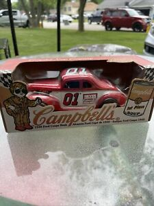 New CAMPBELL'S SOUP  Diecast 1940 Ford Coupe Bank 1998