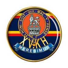 15th King's Hussars, British Army Pin Badge