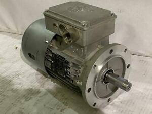 NORD 1HP AC MOTOR & BRAKE # SK80L/4  208-230/260VAC  3PH. 60HZ.  1650RPM