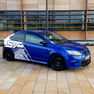 Ford Focus ST Custom Decal Design Car Stickers Garages Design Project Valuation