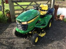 """JOHN DEERE X300R HYDROSTATIC RIDE ON MOWER WITH 42"""" CUTTER DECK & POWER COLLECT"""
