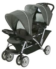 Graco DuoGlider Click Connect Lightweight Double Stroller, Glacier | 1980461