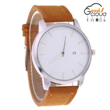Hot Luxury Mens Quartz Wrist Watches Leather Strap Analog Slim Date Casual Watch