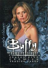 Inkworks Buffy TVS Season 5 Complete 90 Card Base Set