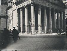 Panthéon Rome Roma Italie Italia Photo amateur Vintage ca 1900