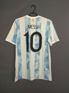 Messi Argentina Jersey 2020 Home MEDIUM Shirt Adidas GE5475 ig93