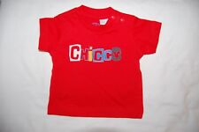 Chicco Red T Shirt Short Sleeves Age 1 Month BNWOT