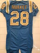 Chris Markey Game Used UCLA Bruins Jersey Game Worn Jersey