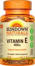 Suplemento Vitamina E- 400 En Cápsulas Promueve Salud Corazón Circulación Piel
