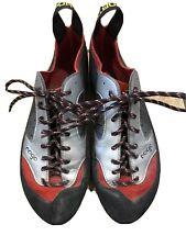 La Sportiva Italy Made Men's 43 Leather Upper Vibram Sole Climbing Shoes