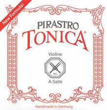 New formula Pirastro Tonica violin string set 4/4 ball end