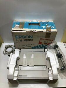 VINTAGE EPSON LX-800 DOT MATRIX Printer