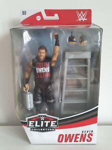 "KEVIN OWENS / MATTEL / WWE ELITE COLLECTION SERIES 80 / 7"" ACTION FIGURE"