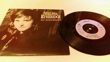 "Melissa Etheridge - No Souvenirs 7"" Vinyl Single is 431 1989"