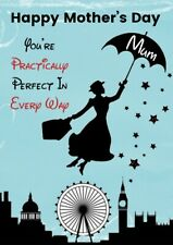 Mothers Day Card Mary Poppins