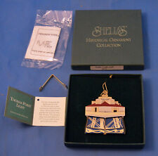 1996 The Thomas Point Lighthouse of Shelia's Historical Ornament Collection