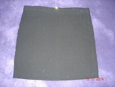 Mini Jupe coupe droite noir et clous dorés T 36 STRADIVARIUS NEUF