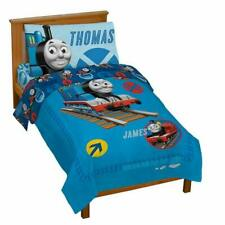 Thomas Friends Toddler Bedding 4 Piece Set
