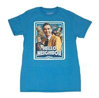 Mr Rogers Neighborhood Hello Neighbor Retro TV Show Graphic Mens T Shirt S-2XL
