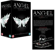 ANGEL 1-5 (1999-2005): COMPLETE Avenging Vampire TV Seasons Series UK DVD not US