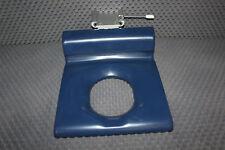 Pressalit Care Duschstuhl mit Rücken- und Armlehnen blau / Dusch Hocker