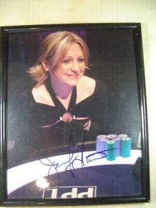 Vintage Jennifer Harman Poker Tour Signed 8x10 photo