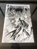 New Sealed Batman Unwrapped Andy Kubert Dc Comics Hardcover Graphic Novel