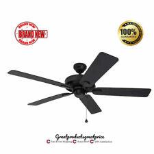 Ceiling Fan 52in Antique Bronze Indoor Outdoor Reversible Air Flow Home Decor