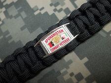 U.S. Navy Seals U.D.T. Team AFGHANISTAN COMBAT VETERAN Paracord Key Fob