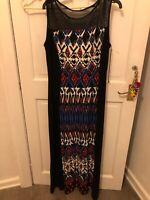 ROMAN MAXI DRESS 14 New No Tags £12! Stunning