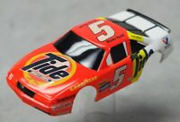 HO Slot Car Body - Tyco 440x2  Wide-Pan Body - TIDE Chevy Lumina NASCAR Rudd
