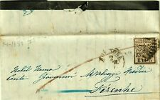 878-STATO PONTIFICIO, 5 BAJ ( S.6A), DA BOLOGNA A FIRENZE, 1859