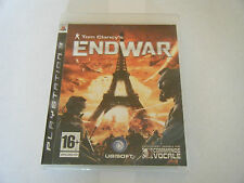 Tom Clancy's Endwar - Sony PlayStation 3 - PS3 - Occasion - Complet - PAL FR