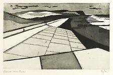 Otto eglau-formas en el mar-aguafuerte/aquatinta 1958