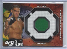 ANTONIO SILVA 2013 TOPPS UFC BLOODLINES MAT RELIC RUBY /8 - #'d 4/8