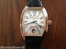 PRE-OWNED FRANCK MULLER CONQUISTADOR REF.8005 SC 18K SOLID ROSE GOLD WATCH