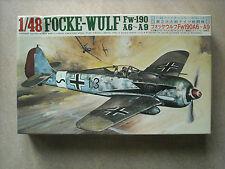FUJIMI 1/48 FOCKE -WULF FW-190 A-6/ A-9
