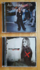 2 CDs by Avril Lavigne, Let Go and Under My Skin (Arista)