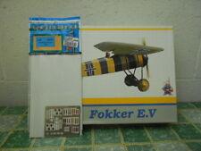 FOKKER E.V + CINTURE SICUREZZA - EDUARD WEEKEND EDITION SCALA 1/48