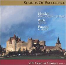 Sounds of Excellence: 200 Greatest Classics, Vol. 8 (CD, Jul-2000, Platinum Ent…