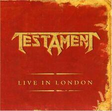Testament - Live in London CD NEU OVP