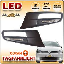 VW SHARAN 7N OSRAM 5 LED Tagfahrlicht Set im Gitter fest verbaut ab Bj. 2010 NEU