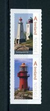 Norway 2016 MNH Norwegian Lighthouses V 2v S/A Set Architecture Buildings Stamps