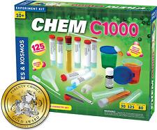 Thames & Kosmos 640118 Chem C1000 V 2.0 Chemistry Set with 125 Experiments & 80