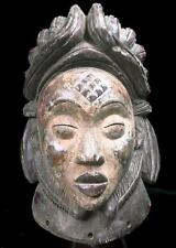 Old Tribal Large Punu Maiden Spirit Helmet   Mask      -----Gabon BN 11