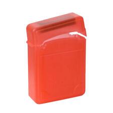 ABS 2.5 in (environ 6.35 cm) Disque Dur SATA IDE Boîtier De Disque Dur Boîte Double-couche Case Rouge