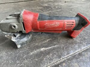 "Milwaukee HD18AG125 18V Li-Ion Cordless 5"" (125mm) Angle Grinder - Skin Only"