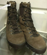 Genuine Brown Suede Meindl Army Issue Combat Male Desert Boots 10W UK MDL210W